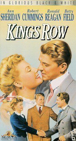 Kings Row Amazoncom Kings Row VHS Ann Sheridan Robert Cummings Ronald