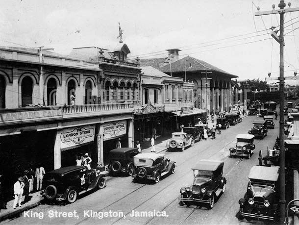 Kingston, Jamaica in the past, History of Kingston, Jamaica