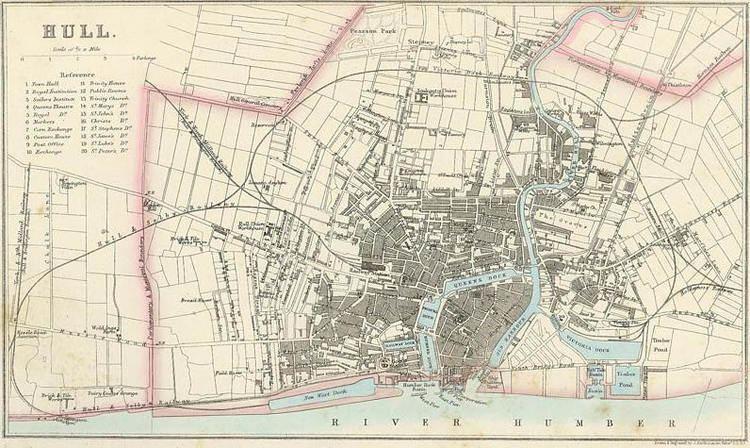 Kingston upon Hull in the past, History of Kingston upon Hull
