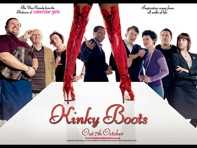 Kinky Boots (film) Best business movie of the year Kinky Boots Troy AngrignonTroy