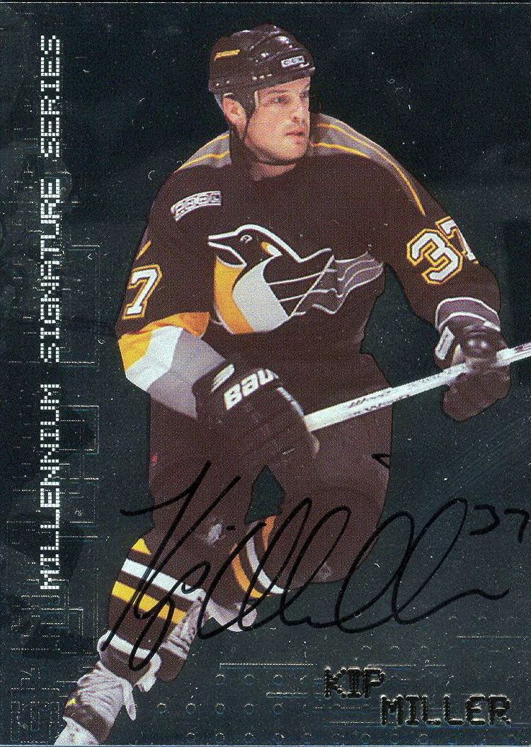 Kip Miller Collection of hockey cards Choose by type cards Autograph