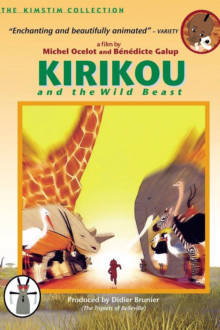 Kirikou and the Wild Beasts wwwgstaticcomtvthumbdvdboxart160489p160489