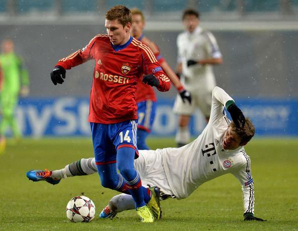 Kirill Nababkin Kirill Nababkin Photos PFC CSKA Moscow v FC Bayern