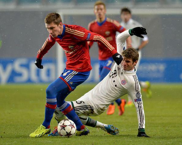 Kirill Nababkin Kirill Nababkin Pictures PFC CSKA Moscow v FC Bayern