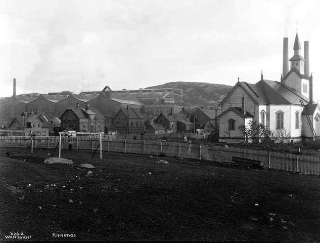 Kirkenes in the past, History of Kirkenes