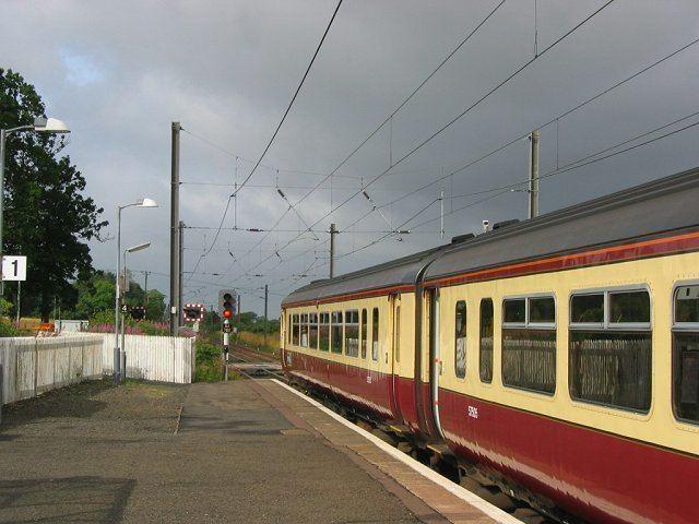 Kirknewton railway station