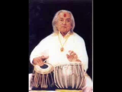 Kishan Maharaj Pt Kishan Maharaj Teen Taal Year 1971 YouTube