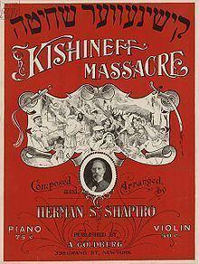 Kishinev pogrom Kishinev pogrom Wikipedia