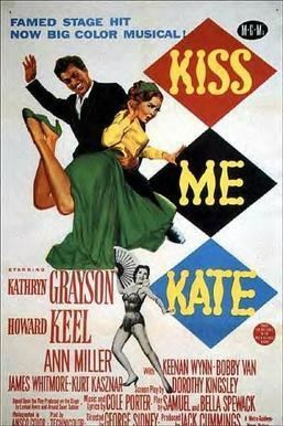 Kiss Me Kate (film) movie poster