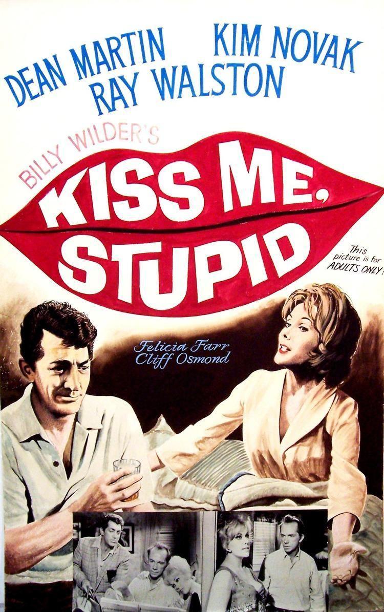 Kiss Me, Stupid Charitybuzz Kiss Me Stupid 1964 Vintage HandPainted Film