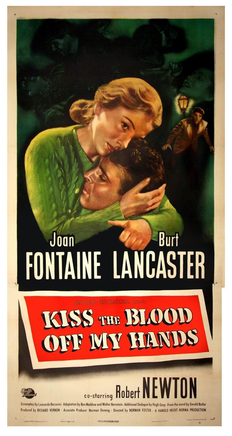 Kiss the Blood Off My Hands THE BLOOD OFF MY HANDS 1948