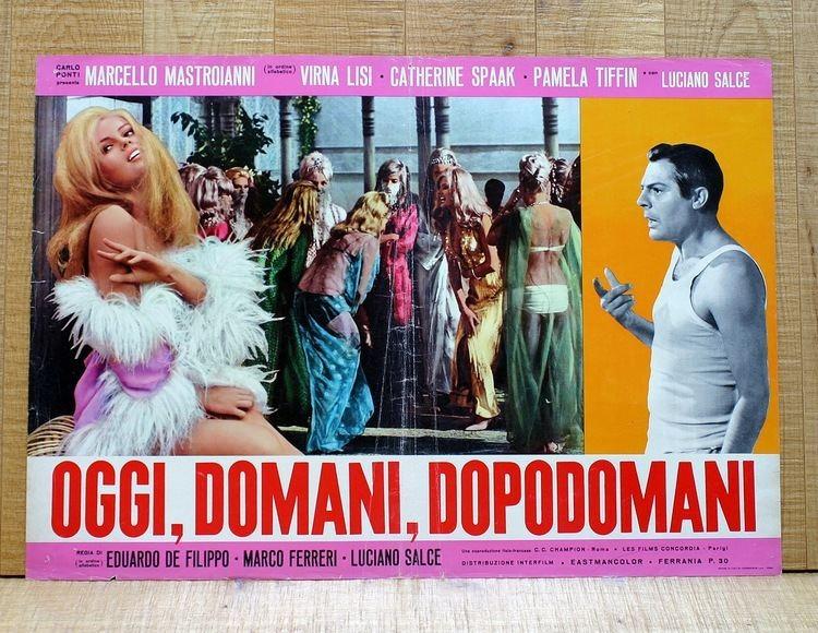 Kiss the Other Sheik La Calda Vita Oggi domani dopodomani 1965 The Man With the