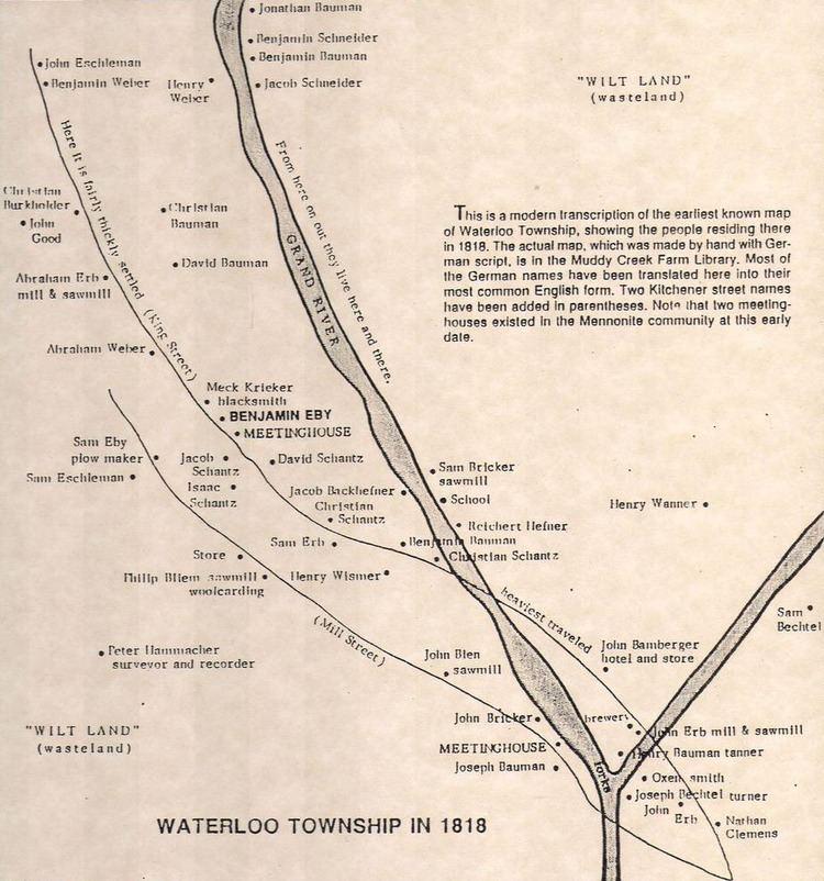 Kitchener, Ontario in the past, History of Kitchener, Ontario