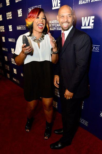 Kiwane Garris Syleena Johnson and Kiwane Garris Photos WE tv39s Joint