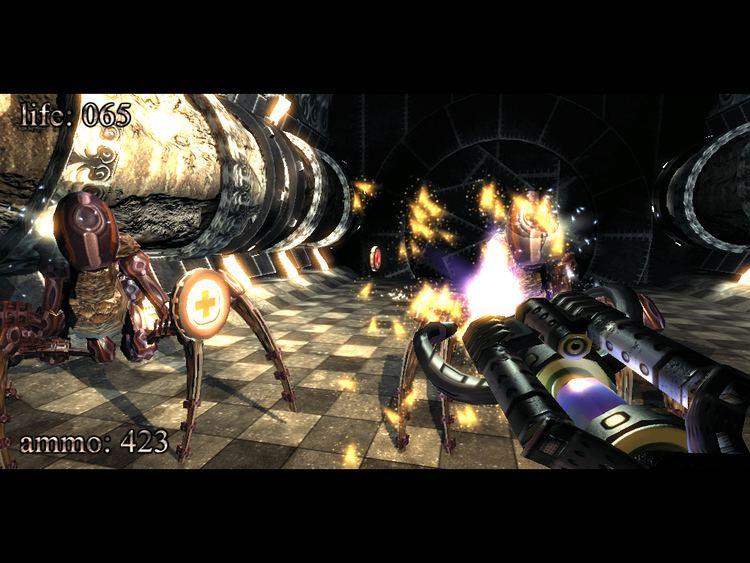.kkrieger 96 KB game KKRIEGER System Wars GameSpot