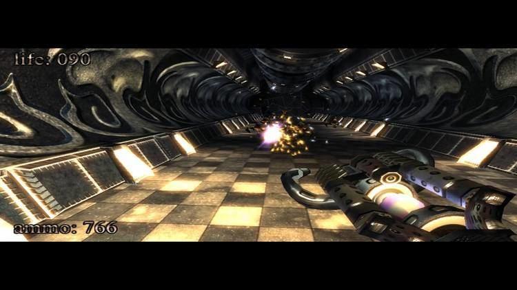 .kkrieger kkrieger gameplay 96KB game YouTube