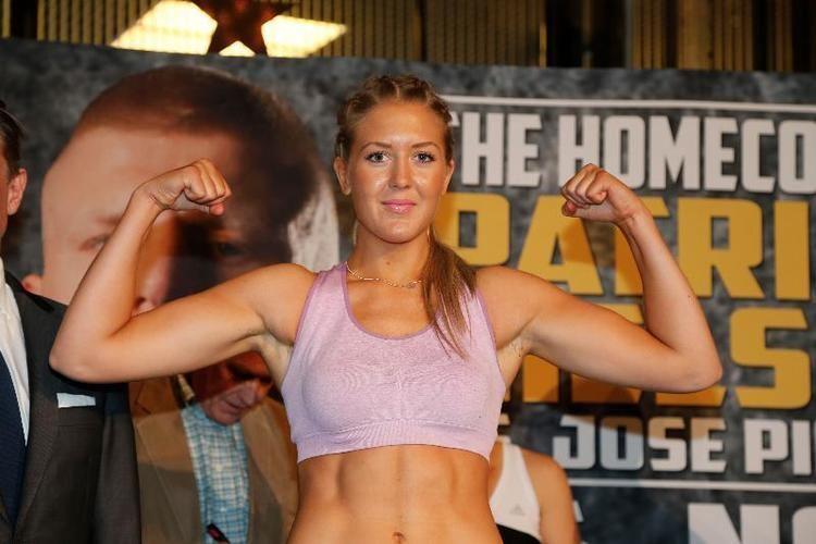 Klara Svensson Get to know The Swedish Princess undefeated female fighter Klara