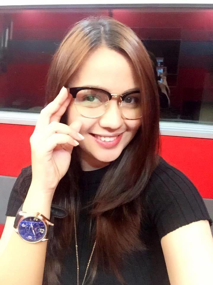 Klariz Magboo in her stylish eyeglasses