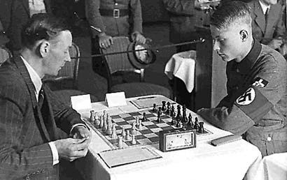 Klaus Junge Klaus Junge The Young Nazi Chess Master Chess Club Iron March