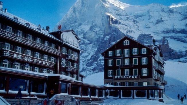 Kleine Scheidegg (film) Hotel Bellevue des Alpes Kleine Scheidegg Switzerland Tourism