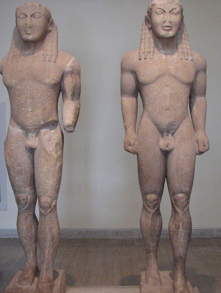 Kleobis and Biton Delphi Museum Kleobis and Biton Delphi Greece Museum Flickr