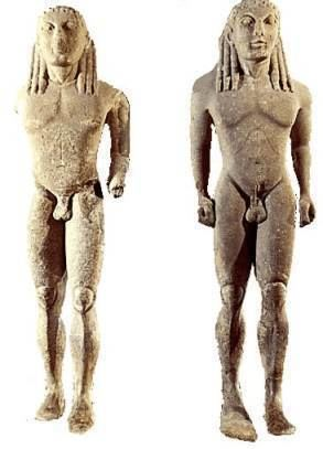 Kleobis and Biton Archaic Greek Art Kleobis and Biton