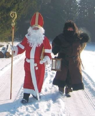Billedresultat for santa krampus ruprecht