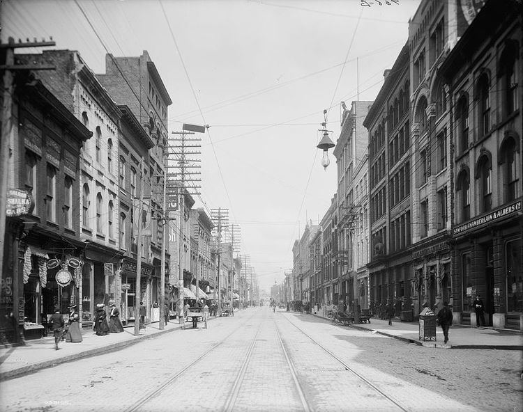 Knoxville, Tennessee in the past, History of Knoxville, Tennessee