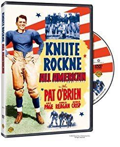 Knute Rockne, All American Amazoncom Knute Rockne All American Robert Buckner Hal B Wallis