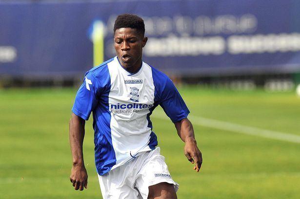 Koby Arthur Birmingham City39s Koby Arthur loaned to Cheltenham Town