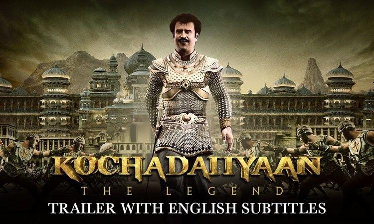 Kochadaiiyaan Kochadaiiyaan The Legend Official Trailer Tamil with English