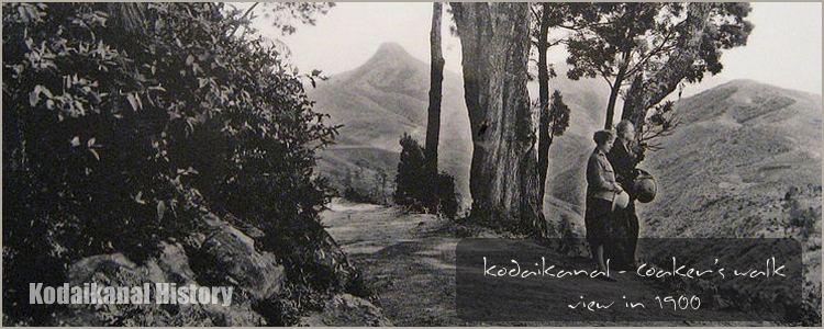 Kodaikanal in the past, History of Kodaikanal
