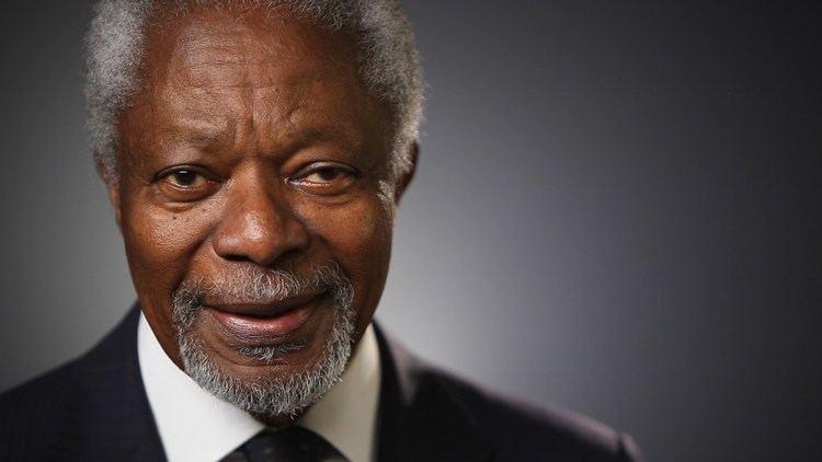 Kofi Annan Kofi Annan The World I39m Working To Create YouTube