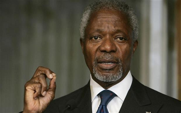 Kofi Annan Boko Haram Nigeria should do more before seeking foreign