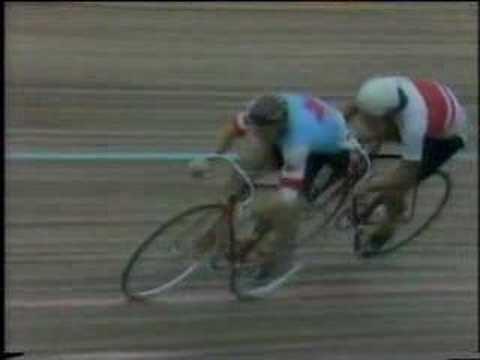 Koichi Nakano Round 3 1982 World Pro Sprint Final Nakano v Singleton