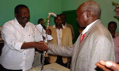 Koitalel Arap Samoei Nandi elders endorse Mudavadi39s presidential bid Capital