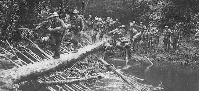 Kokoda Track campaign Trail of Death World War II39s Kokoda Track campaign