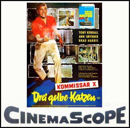 Kommissar X – Drei gelbe Katzen ROBBY39S SUPER8 HOMEPAGE Kommissar X Drei gelbe Katzen Trailer