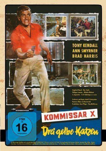 Kommissar X – Drei gelbe Katzen Kommissar X 02 Drei gelbe Katzen Amazonde Tony Kendall Brad