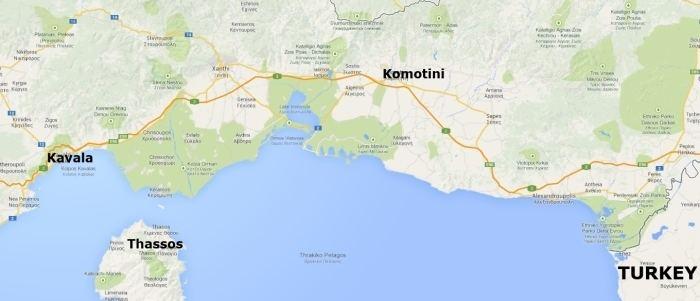 Komotini in the past, History of Komotini