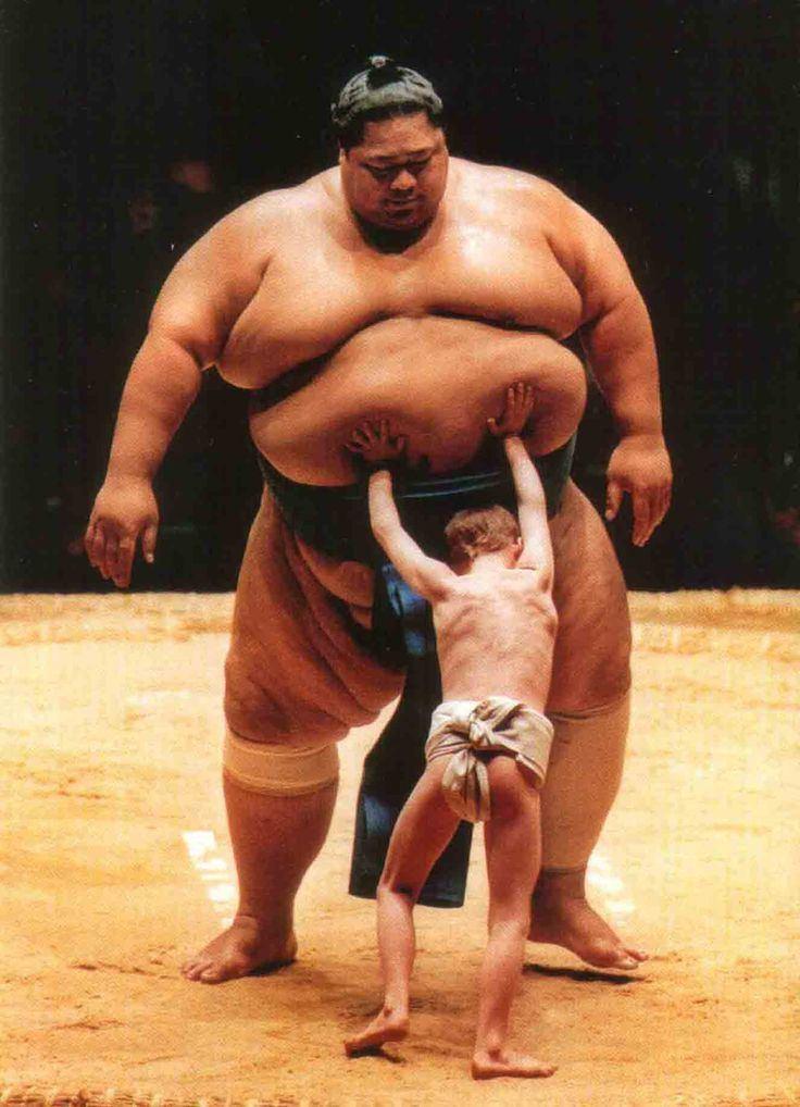 Konishiki Yasokichi MELBOURNE JUNE 6 Giant Sumo Konishiki Konishiki