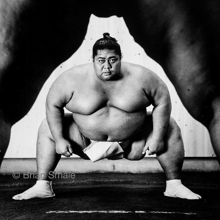 Konishiki Yasokichi Konishiki Yasokichi Sumo Wrestler Photographed by Brian