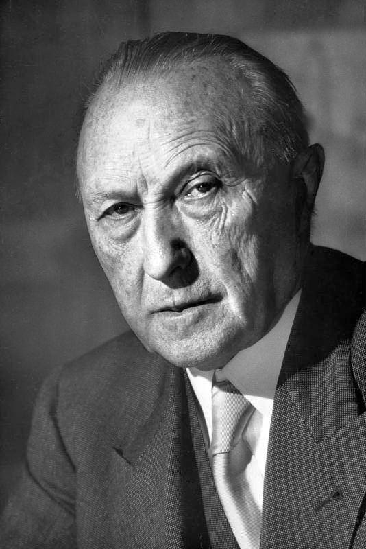 Konrad Adenauer httpsuploadwikimediaorgwikipediacommons88