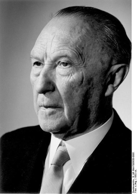 Konrad Adenauer Great European Adenauer Project for Democratic Union PDU