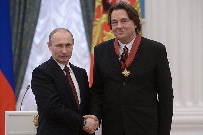 Konstantin Ernst FileVladimir Putin and Konstantin Ernst 24 March 2014