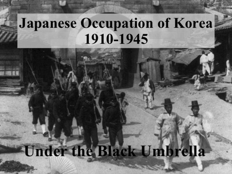 Korea under Japanese rule Japan in korea