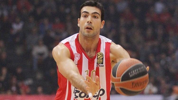Kostas Sloukas Focus on Kostas Sloukas Olympiacos Piraeus YouTube