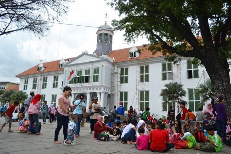 Kota Tua Jakarta Wisata Kota Tua Jakarta Ini 5 Landmark Historis INITEMPATWISATAcom