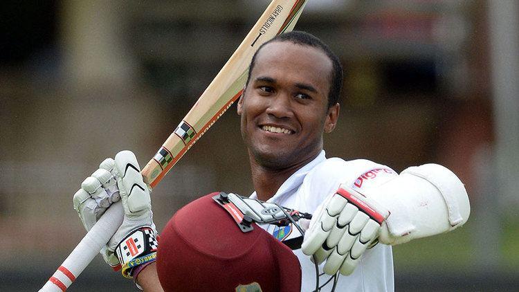 Kraigg Brathwaite Gritty Brathwaite passes stern test Cricket ESPN Cricinfo