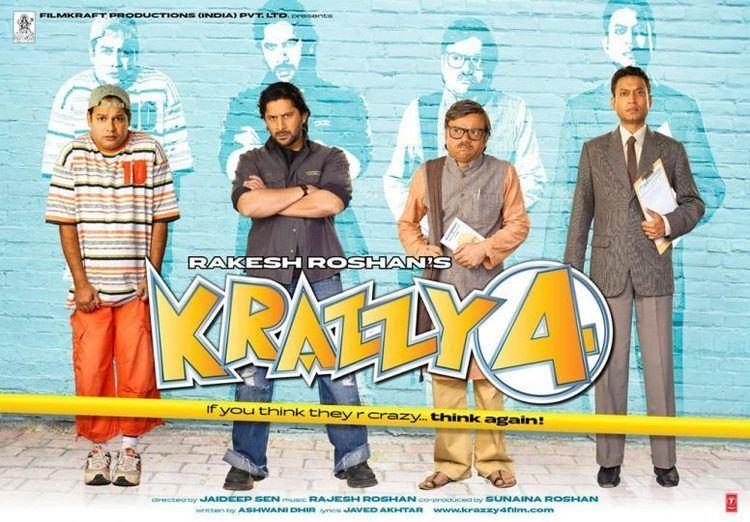 Krazzy 4 2008 Full Hindi Movie Watch Online DVD HD Print Download